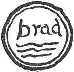 Impression of seal, brad