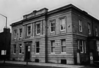 The building in Manor Row which was the offices of the Bradford Canal Company