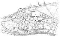 Plan of the exhibition grounds