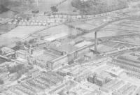 Saltaire Mills - Aerial View